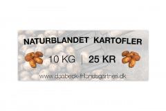 Daabeck naturblandet kartofler banner
