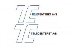 Pga. manglende vektorfil til skiltning, skulle Telecenterets logo rentegnes