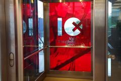 Foliering af elevatorer på Alsion