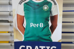 Håndbold roll-up banner