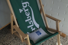 Carlsberg stol & LM Sign pude