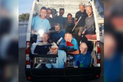 3d effekt på SIB vogn med virksomhedens ansatte