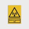Elektromagnetisk felt skilt