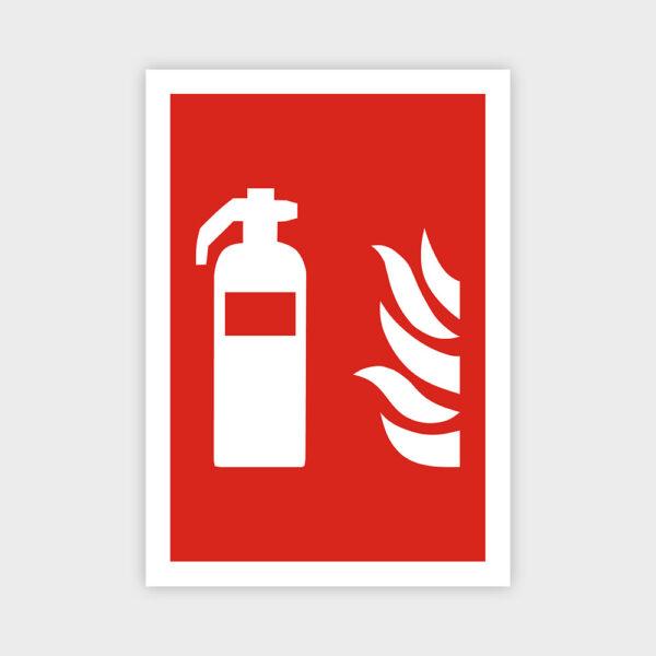 Brandslukker sikkerhedsskilt