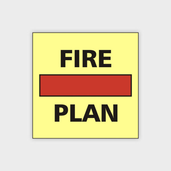 Fire Control Plan Sign