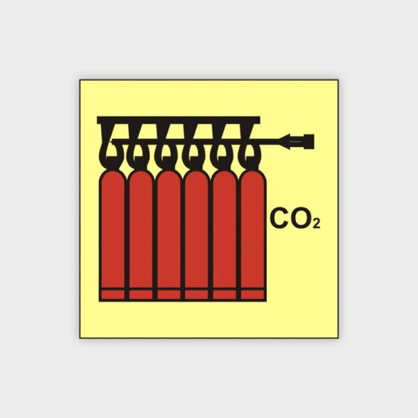 CO2 battery sign