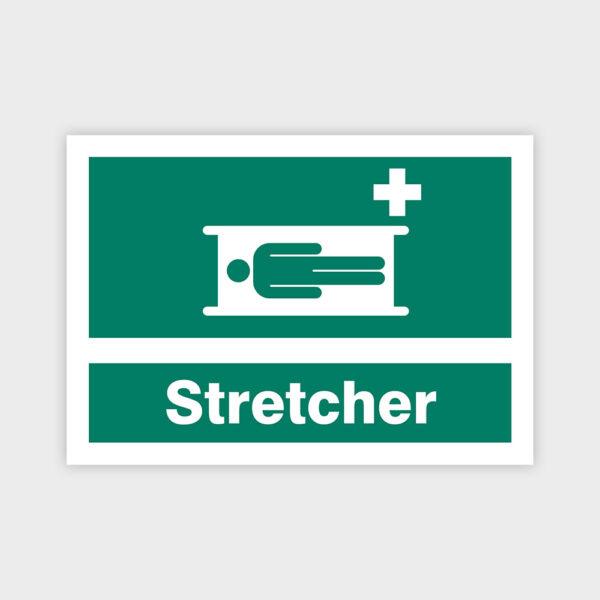 Stretcher skilt