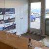 Akryl afskærmning - bord